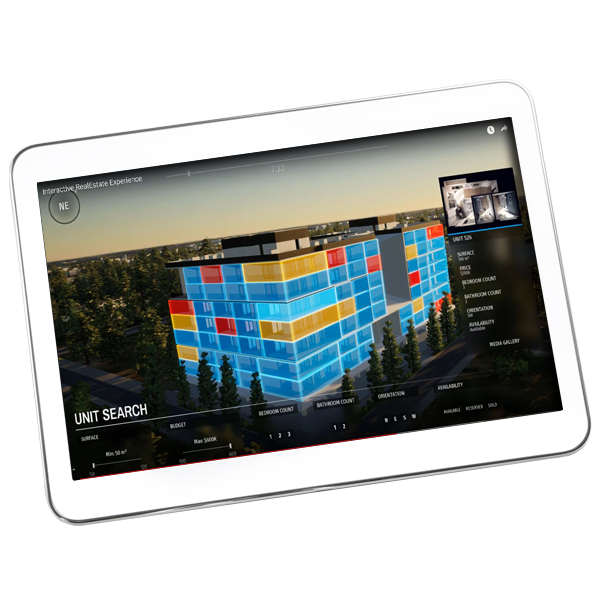 Real Estate Interactive App